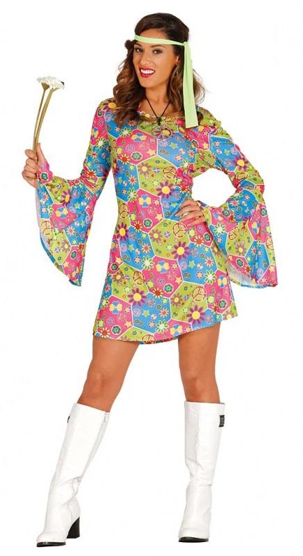 45829a8348f2 Dámský kostým - Hippie - Fóry a žerty