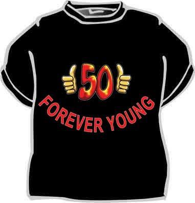 Tričko 50 muž - černé - Fóry a žerty 804bb7c451