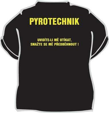 Tričko Pyrotechnik - Fóry a žerty d2c05f7bcd